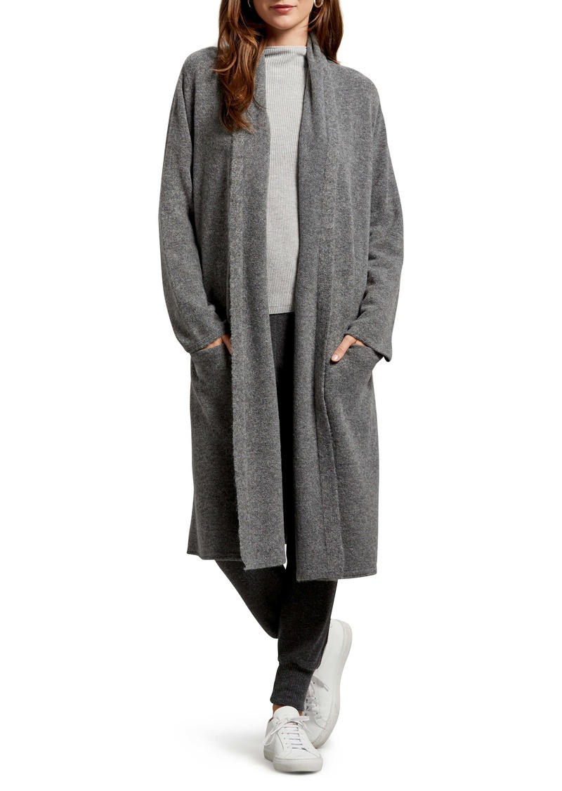 Michael Stars Amerie Solana Shawl Collar Long Cardigan