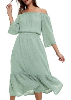 Michael Stars Anya Off the Shoulder Dress