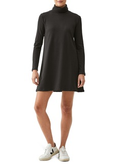 Michael Stars Arya Long Sleeve Turtleneck Swing Dress