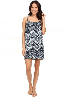Michael Stars Azure Print Cami Swing Dress