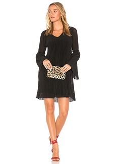 Michael Stars Bell Sleeve Shift Dress in Black. - size L (also in XS,S,M)