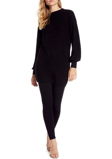 Michael Stars Bishop Sleeve Sweater Dress