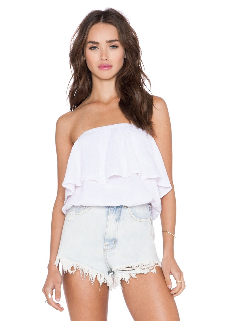 Michael stars michael stars blouson tube top casual for Michael stars t shirts on sale