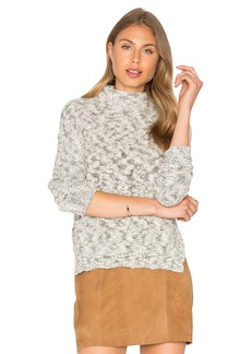 Michael Stars Cabled Turtleneck Pullover