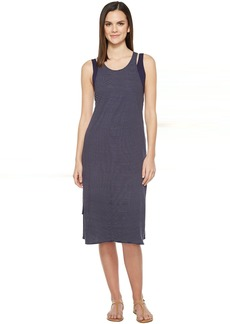 Michael Stars Café Stripe Layered Tank Dress