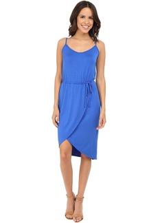 Cami Wrap Dress w/ Tie Waist