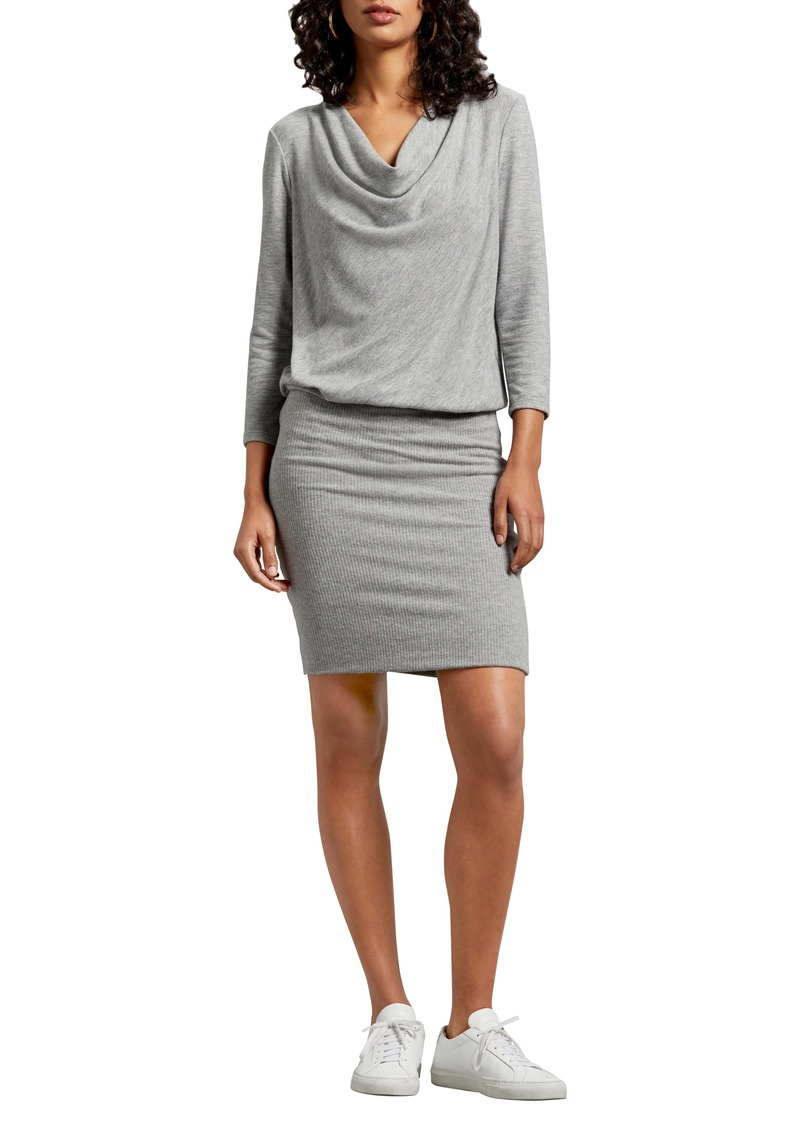 Michael Stars Cecile Madison Ruched Brushed Jersey Dress