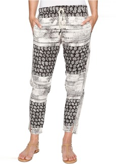 Michael Stars Charlotte Print Drawstring Pants