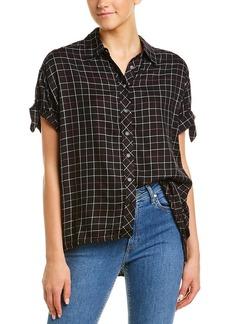 Michael Stars Checkered Button-Down Shirt