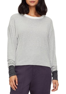 Michael Stars Chloe Madison Brushed Colorblock Pullover