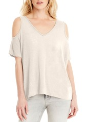 Michael Stars Cold Shoulder Tee