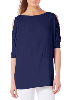 Michael Stars Cold Shoulder Tee (Regular & Petite)