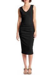 Michael Stars Cora Sleeveless Ruched Body-Con Dress