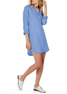 Michael Stars Cotton Gauze Tunic Shirtdress