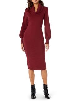 Michael Stars Cowl Neck Body-Con Dress