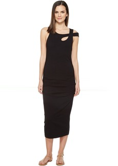 Michael Stars Cross Over Strap Dress w/ Shirring