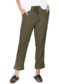 Michael Stars Cuffed Linen Pants