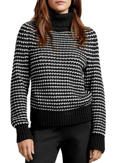 Michael Stars Darcy Striped Turtleneck Sweater