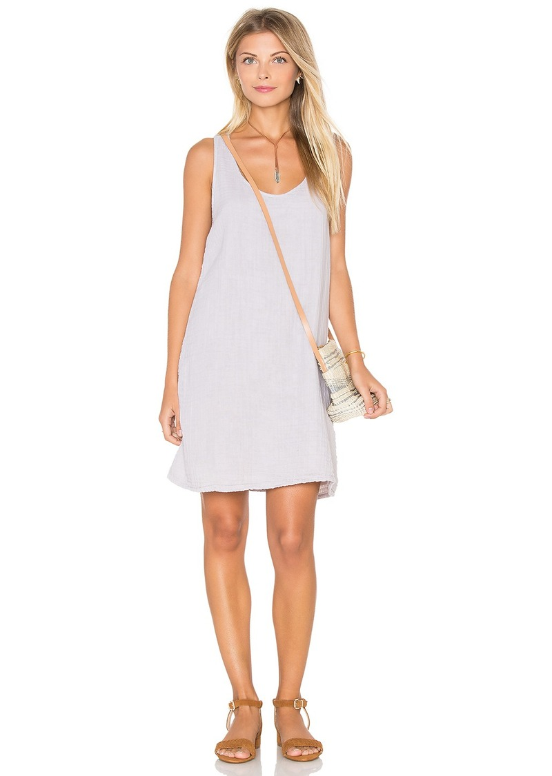 Michael Stars Double Gauze Crochet Racerback Tank Dress
