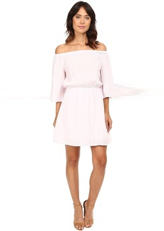 Double Gauze Off Shoulder Dress