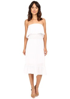 Michael Stars Double Gauze Strapless Dress