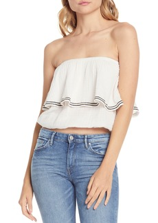 Michael Stars Double Gauze Tiered Top