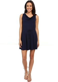 Michael Stars Drape Front Tie Waist Dress