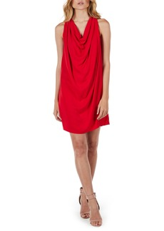 Michael Stars Draped Halter Mini Dress