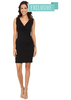 Michael Stars Exclusive Sleeveless Surplice Dress