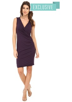 Michael Stars Exclusive Sleeveless Surplice Dress