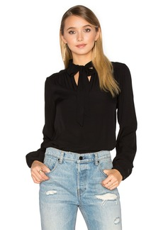 Michael Stars Flowy Bow Blouse