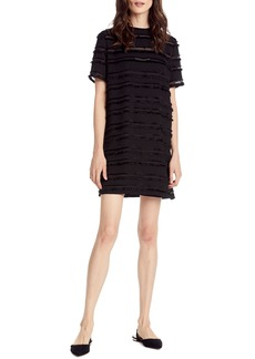 Michael Stars Fringe Stripe Shift Dress