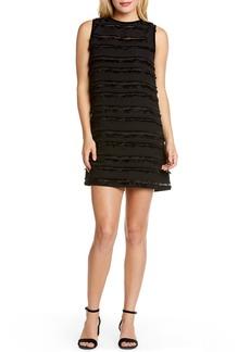 Michael Stars Fringe Stripe Shift Dress