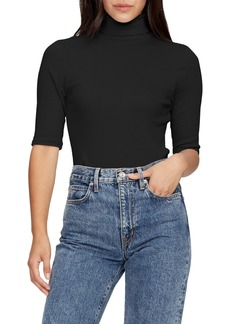 Michael Stars Gabriella Cotton Blend Turtleneck Top