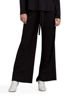 Michael Stars Gloria Cambria Wide Leg Stretch Crepe Pants
