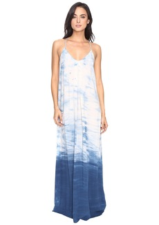 Michael Stars Haze Wash Modern Rayon Maxi Slip Dress