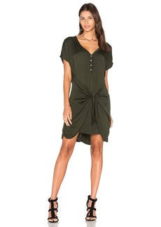 Michael Stars Henley Tie Waist Dress