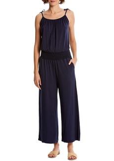 Michael Stars Jane Tie Shoulder Crop Jumpsuit