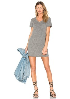 Michael Stars Jersey Pocket Dress in Gray. - size L (also in M,S)