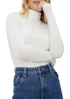 Michael Stars Jojo Side Ruched Turtleneck Sweater