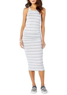 Michael Stars Kali Striped Midi Dress