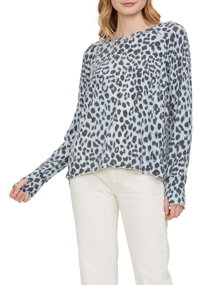 Michael Stars Kim Notch Thumbhole Top