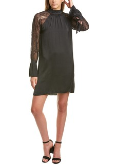 Michael Stars Lace-Sleeve Shift Dress