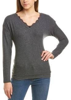 Michael Stars Lace Trim Sweater