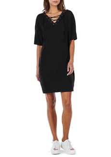 Michael Stars Lace-Up Shift Dress