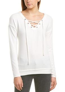 Michael Stars Lace-Up Sweatshirt