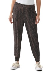 Michael Stars Lidia Relaxed Animal Print Joggers