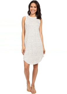Michael Stars Linen Knit Tank Dress w/ Keyhole Back