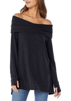 Michael Stars Madison Brushed Convertible Swing Tunic Top