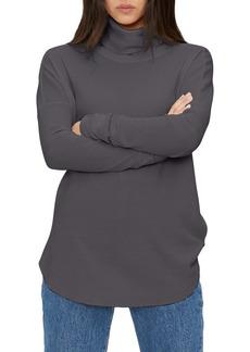Michael Stars Marcy Turtleneck Shirttail Top